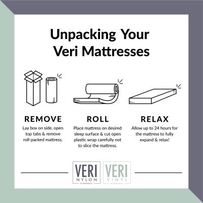 how to unpack veri mattresses