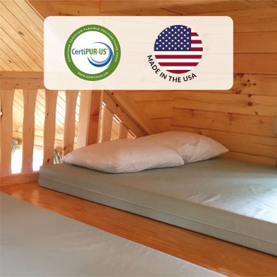 veri mattresses are made in the usa and are certipur