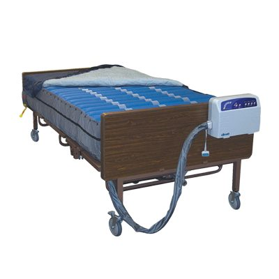 Med Aire Bariatric Heavy Duty Low Air Loss Mattress Replacement Cover