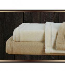 Star Linen Fleece Blanket