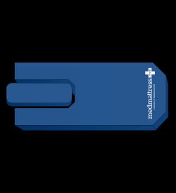 MedMattress Stretcher Pad for Hillrom TranStar 8050 OBGYN Stretcher