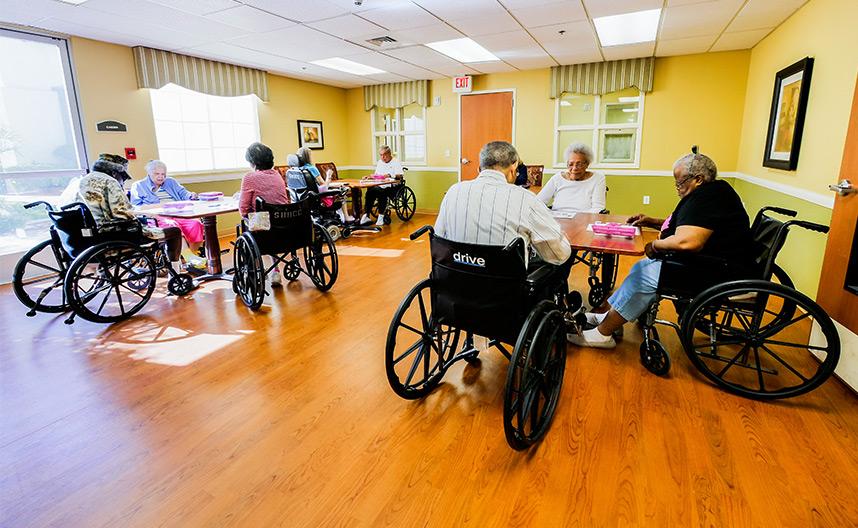 long term care facility