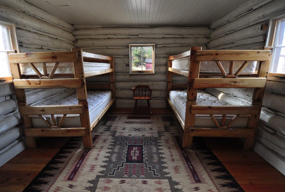 Camp Bunk Beds in Cabin