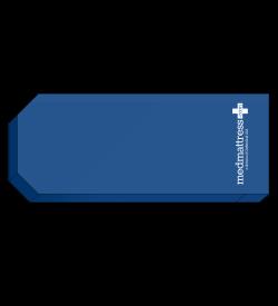 MedMattress Stretcher Pad with Taper at Head