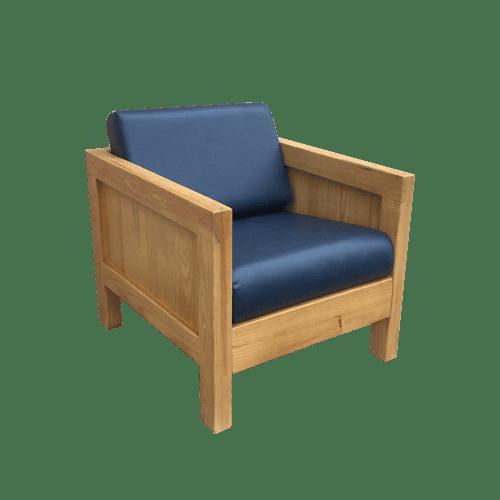 Sierra Royal Blue 1 Seater Chair