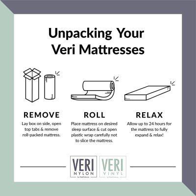 veri how to unpack your mattress