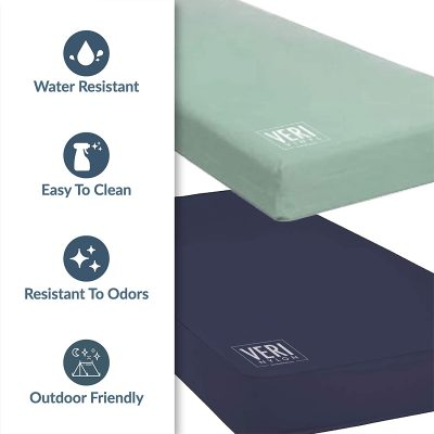 Veri mattress features bed bug resistant, waterproof, easy to clean