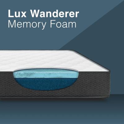 MedMattress RV Lux Wanderer Memory Foam Mattress